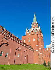 Trinity Tower of Moscow Kremlin, Russia