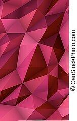 trojúhelník, abstraktní, moderní, poly, bučet, grafické pozadí, vystavit