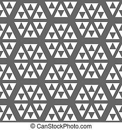 trojúhelník, grafické pozadí., abstraktní, běloba grafické pozadí