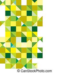 trojúhelník, trikolóra, nezkušený