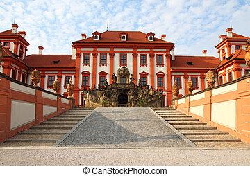 Troja castle in the Prague