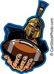 trojan football mascot