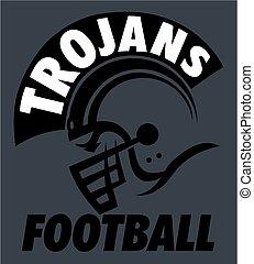 trojans, futebol