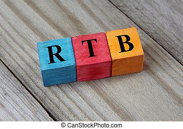 trojmocnina, barvitý, rtb, dřevěný, text, bidding), (real-time