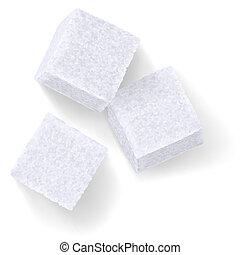 trojmocnina, cukr