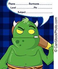 troll, démon, dessins animés