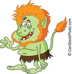 Troll - Green troll