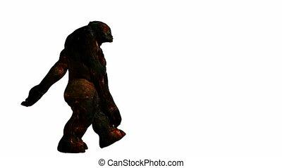 troll, gyalogló