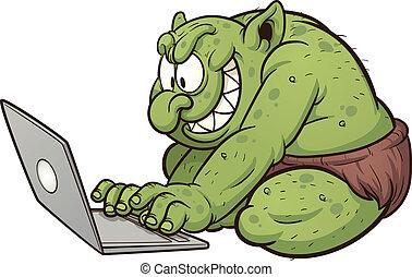 troll, kövér