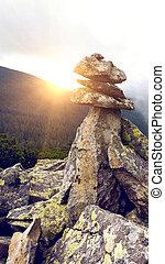 Troll - Pyramid of stones