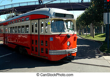 Trolley Car Bus