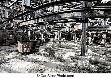 trolley for steel industry