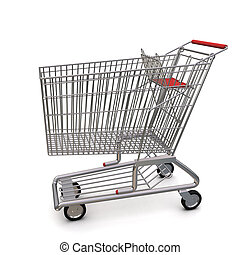 trolley from the supermarket