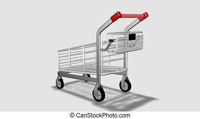 Trolley rotating animation