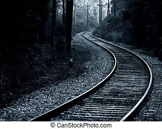 Trolley Track - trolley track, hard steel