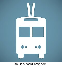 trolleybus icon