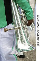 Trombone player
