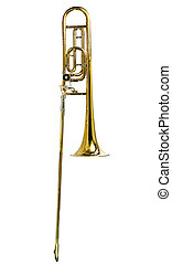 trombone, vertical, ténor
