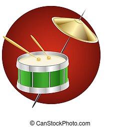 trommel, muziek instrument