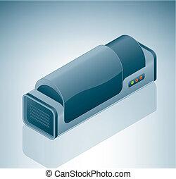 trommel, scanner