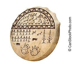 trommel, van, de, shaman