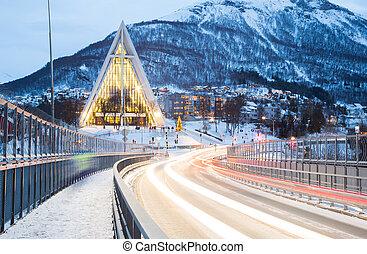 Tromso Arctic Cathedra Norway - Tromso Arctic Cathedral ...
