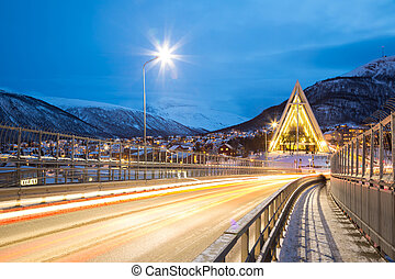 Tromso Arctic Cathedral Norway - Tromso Arctic Cathedral ...
