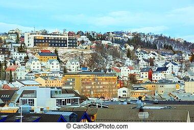 Tromso Norway Cityscape