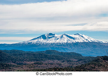 Tronador stratovolcano in the southern Andes