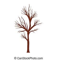 Arbre feuilles sans racine pomme pomme sans feuilles vecteur search clip art - Arbre sans racine envahissante ...