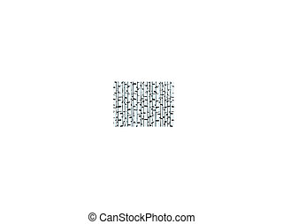 tronco, fundo, ilustração, vidoeiro