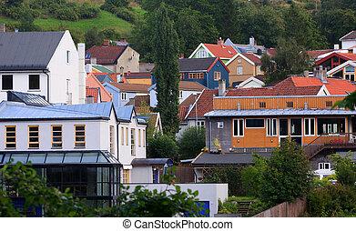 Trondheim cityscape