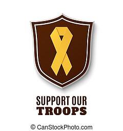 troops., δικός μας , υποστηρίζω