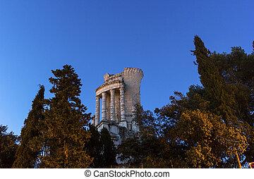 Tropaeum Alpium in La Turbie, France - Victory Monument of ...