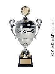 trophée, blanc