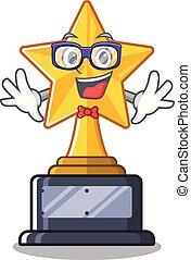 trophée, caractère, geek, forme étoile