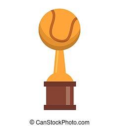 trophée, championnat, base-ball, tasse