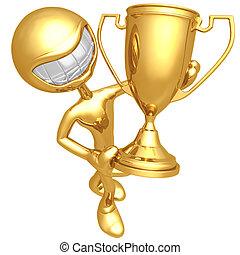 trophée, gagnant