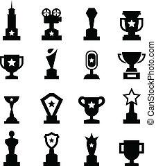 trophée, icône