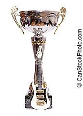trophée, mini, guitare, électrique