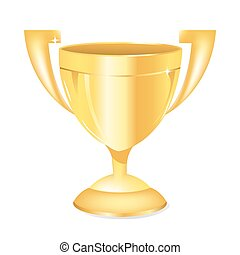 trophée, or