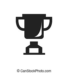 trophy Awards vector icons