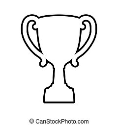 Vector Graphic Clipart Vectorby Djvstock1 4 Trophy Cup Icon Winner Design
