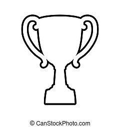 Vector Graphic Clipart Vectorby Djvstock1 4 Trophy Cup Icon Winner Design