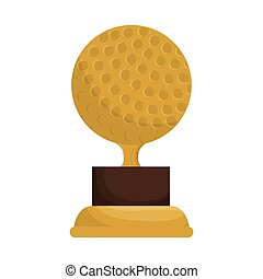 trophy golf competition