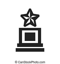trophy vector icons