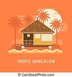 Tropic Bungalow House