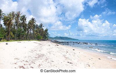 Tropic sea view - Tropical sea beach view,Thailand Samui