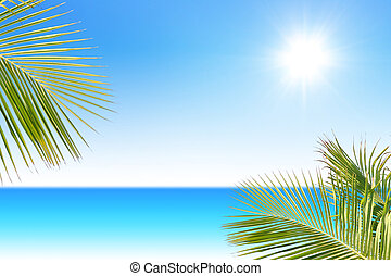 tropicais, mar