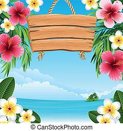 tropicais, paisagem